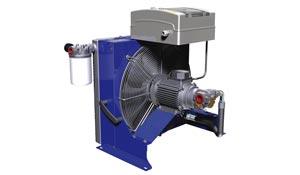 减速箱带泵冷却系统空冷换热器 RID Series